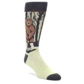 Bear Naked Socks by Statement Sockwear