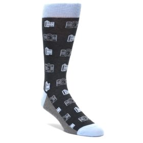 Photography Camera Socks for Men by Statement Sockwear