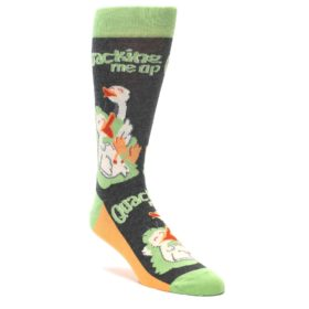 Ducks Laughing Quacking Me up Socks by Statement Sockwear