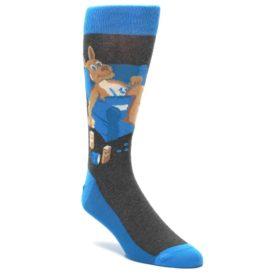 Kangaroo Men's Pouch Potato Socks by Statement Sockawear