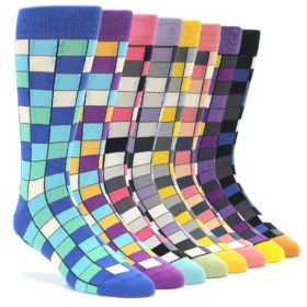 Checkered Sock Collection - Sock Draw Makeover