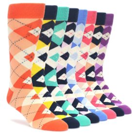 Bright Argyle Sock Draw Makeover