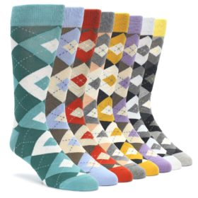 Subtle Argyle Statement Sockwear Sock Makeover