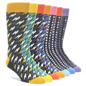Houndstooth Sock Collection - Sock Draw Makeover