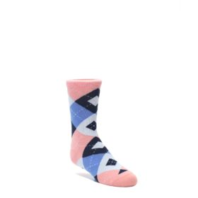 Pink Blue Navy Junior Groomsmen Kids Wedding Socks by Statement Sockwear