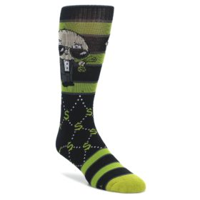 Green-Family-Guy-Stewie-Rich-Mens-Casual-Socks-Odd-Sox