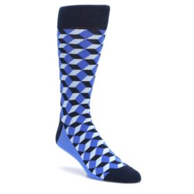 Blues-Beeline-Optical-Mens-Dress-Socks-Statement-Sockwear