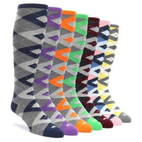 Over-the-Calf Argyle Knicker Sock Collection