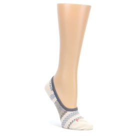 an-Cream-Dot-Stripe-Wool-Womens-Liner-No-Show-Socks-Smartwool