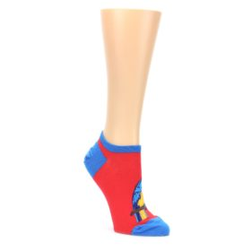Red-Blue-Gold-Parrot-Womens-Ankle-Socks-Socksmith