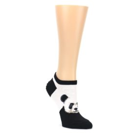 Black-White-Panda-Womens-Ankle-Socks-Socksmith