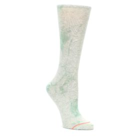 Mint-Green-Tie-Dye-Womens-Casual-Sock-STANCE