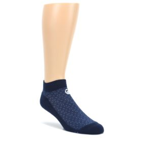 Blue-Ocean-Bubbles-Mens-Ankle-Socks-Conscious-Step