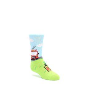 Cat-Rescue-Fireman-Kids-Dress-Socks-K-Bell