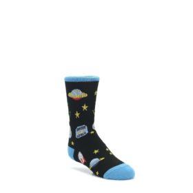 4-9Y-Black-Outer-Space-Kids-Dress-Socks-K-Bell