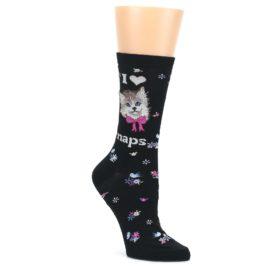 Black-Cat-Naps-Womens-Dress-Socks-K-Bell-Socks