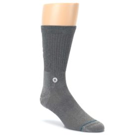 Gray-Solid-Storm-Trooper-Star-Wars-Mens-Casual-Socks-STANCE