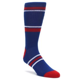Chicago-Cubs-Mens-Athletic-Crew-Socks-PKWY