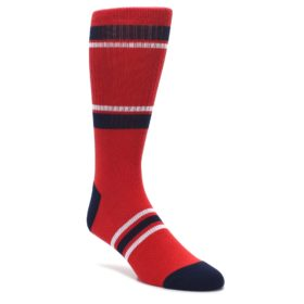 Los-Angeles-Angels-Mens-Athletic-Crew-Socks-PKWY