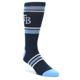 Tampa-Bay-Rays-Mens-Athletic-Crew-Socks-PKWY