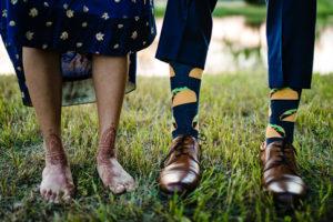 Novelty Taco Men's Groomsmen Wedding Dress Socks
