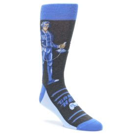 Men's Video Gamer Hero Dress Socks by Statement Sockwear