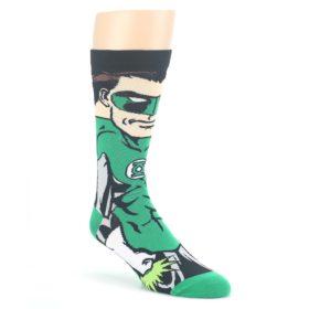 Green-Lantern-360-Mens-Casual-Socks-BIOWORLD