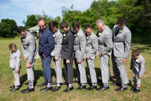 Flamingo Pink Navy Argyle Men's Groomsman Wedding Dress Socks