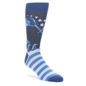 Men's Funky Narwhal Socks by Statement Sockwear
