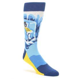 Ice Caveman Just Chillin Socks by Statement Sockwear