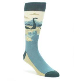 Loch Ness Monster Socks by Statement Sockwear