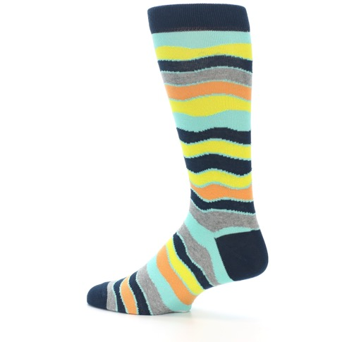 Dress to impress in fun, sophisticated men's dress socks that come in colorful patterns including argyle, novelty, striped, polka dot, plaid, and more.
