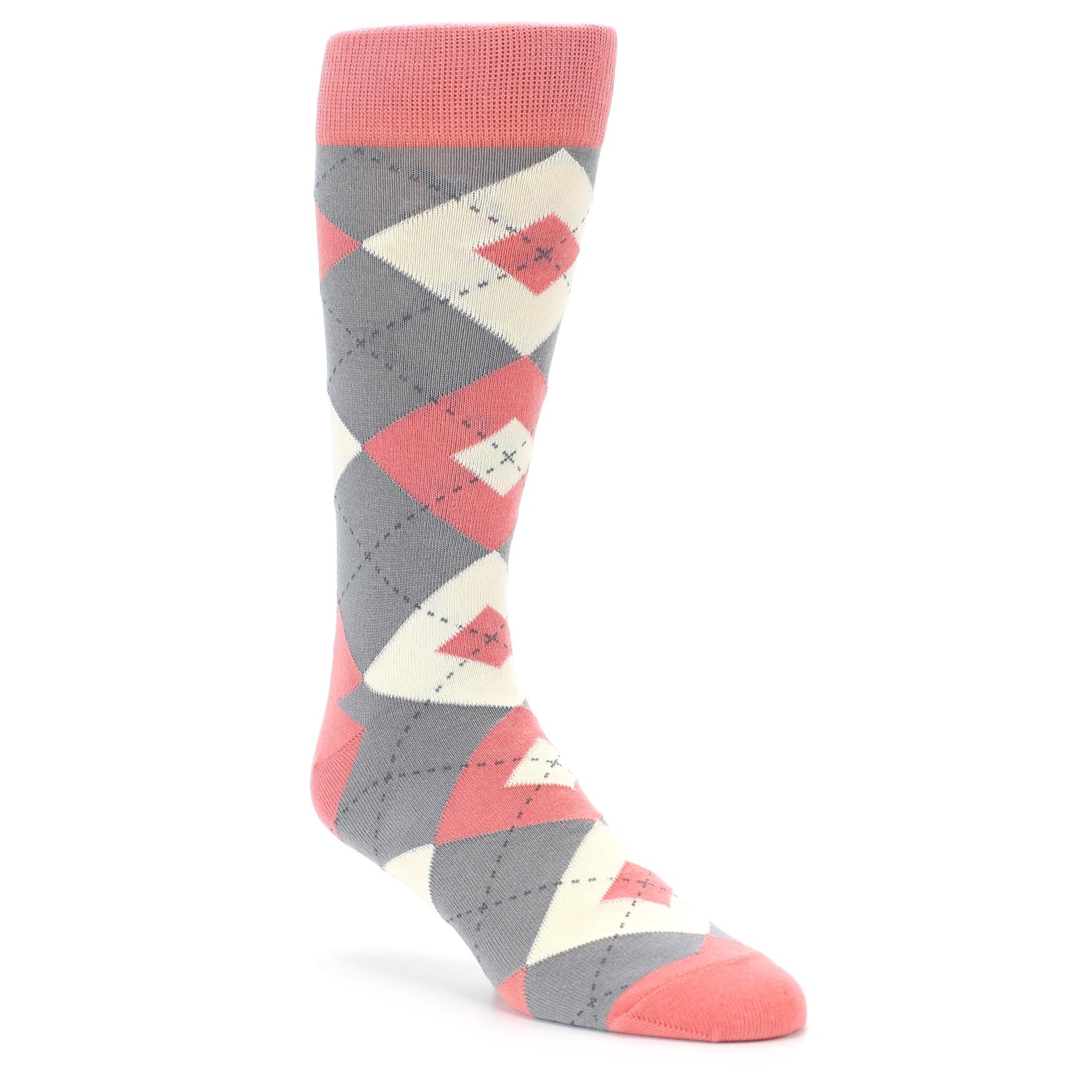 C And Grey Wedding Socks