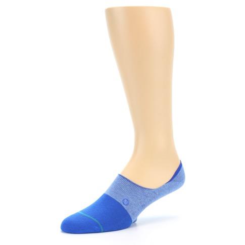 Blue Solid Menu2019s Liner Socks - STANCE