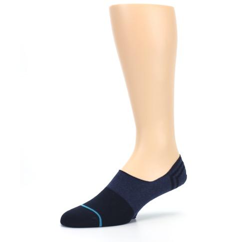 Navy Gamut Menu2019s No Show Liner Socks - STANCE